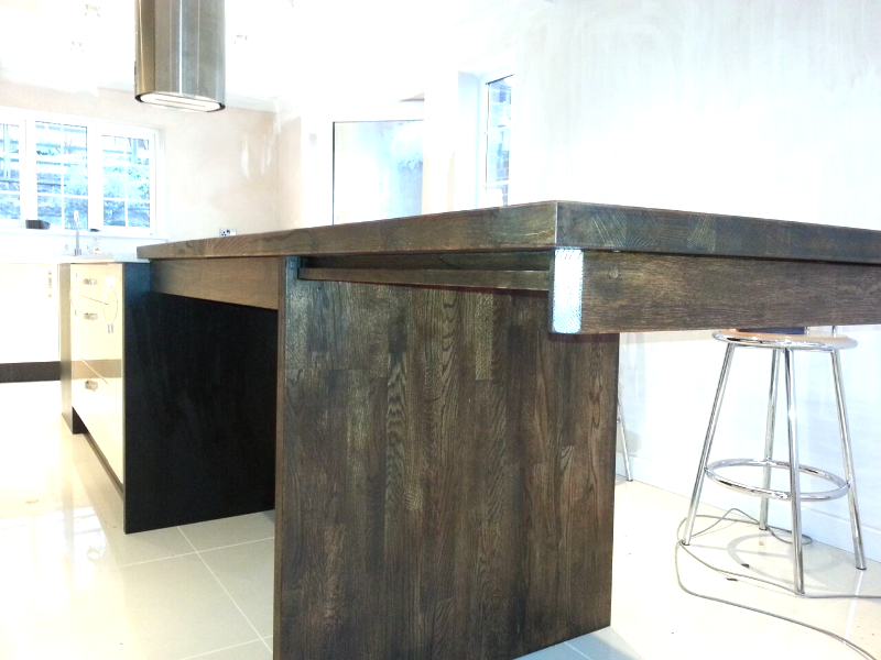 Bespoke Extending wortop and table